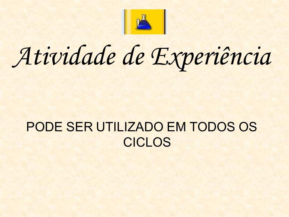 Atividade de Experiência