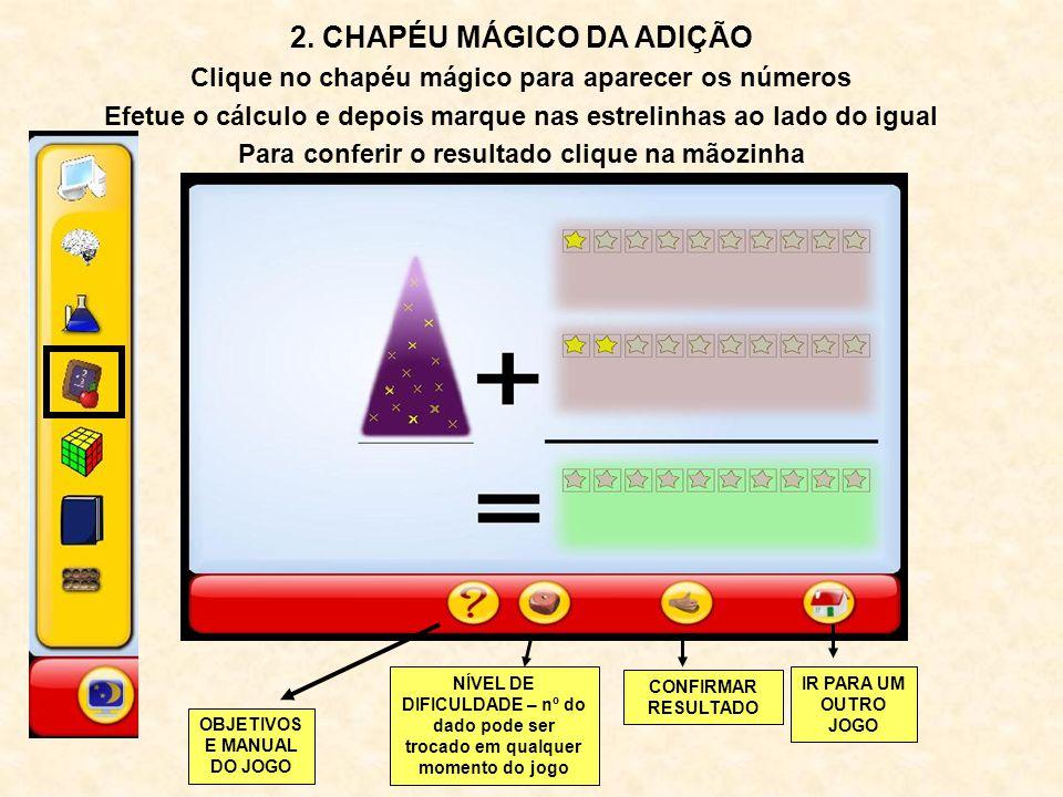 2. CHAPÉU MÁGICO DA ADIÇÃO