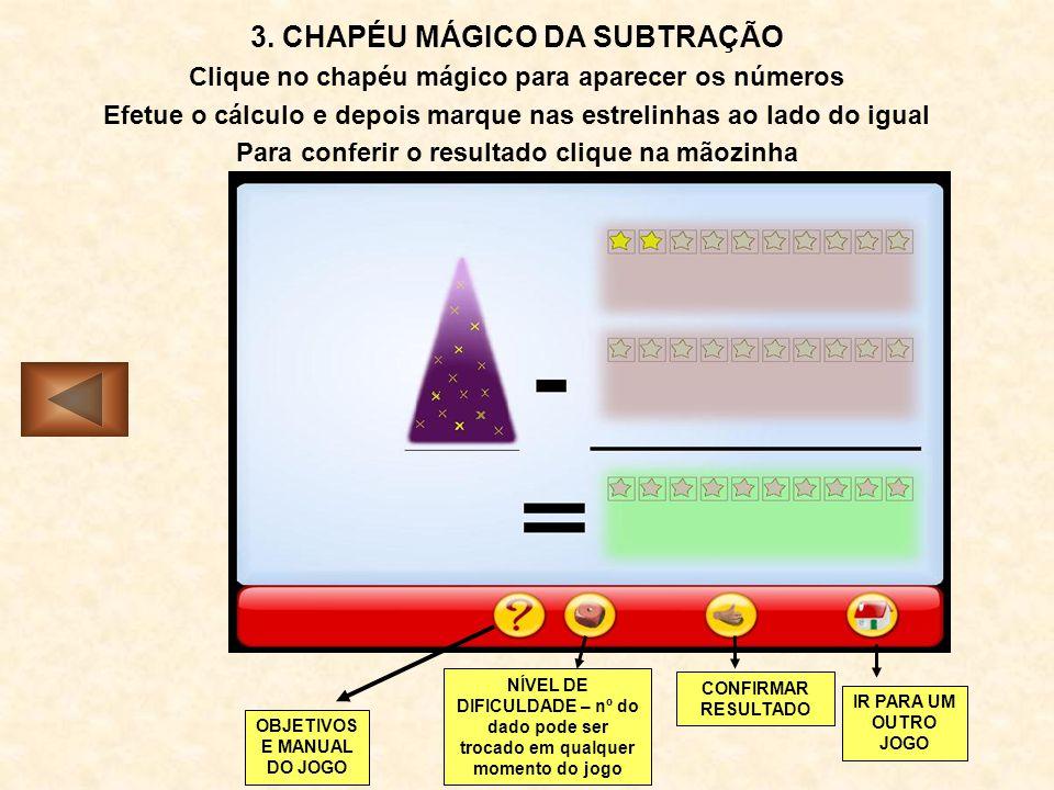 3. CHAPÉU MÁGICO DA SUBTRAÇÃO