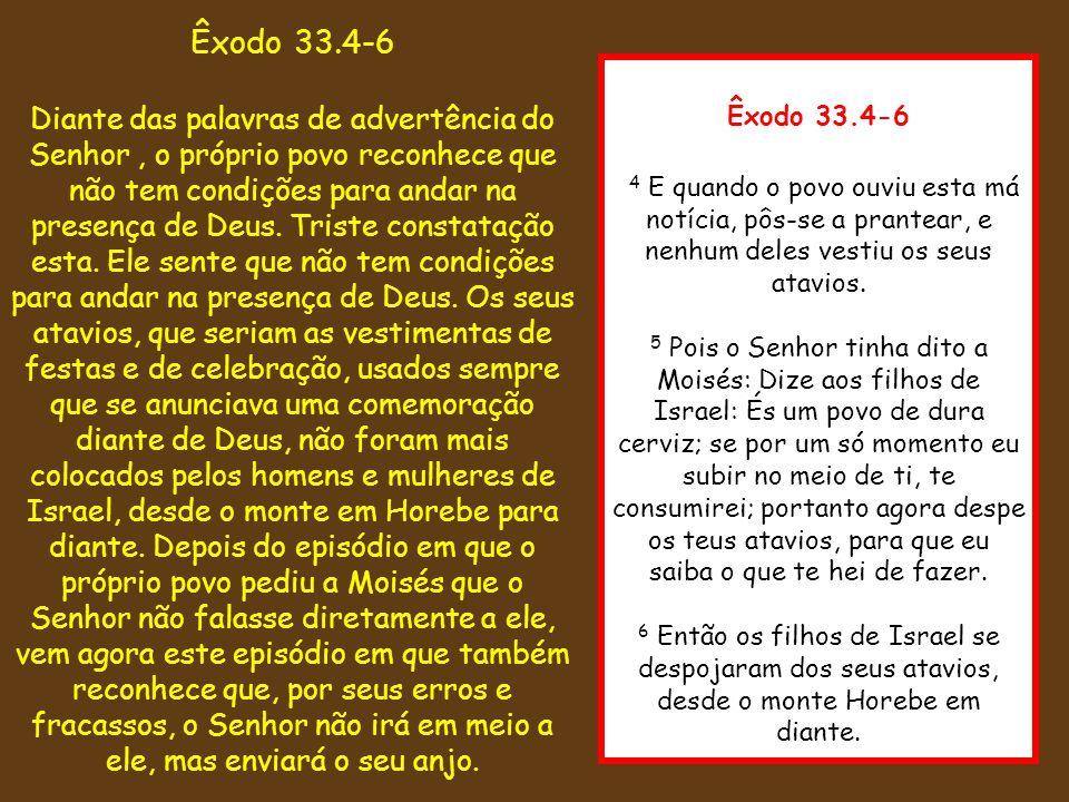 Êxodo 33.4-6