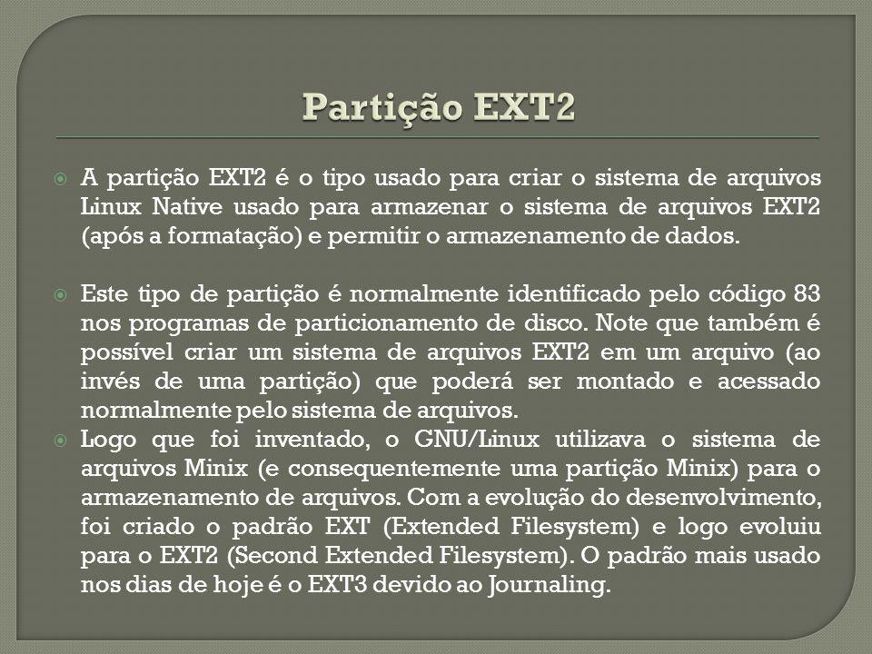 Partição EXT2