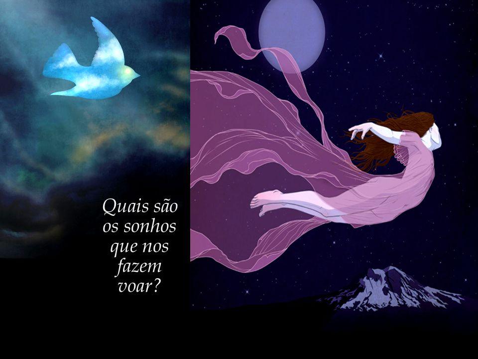 Quais são os sonhos que nos fazem voar