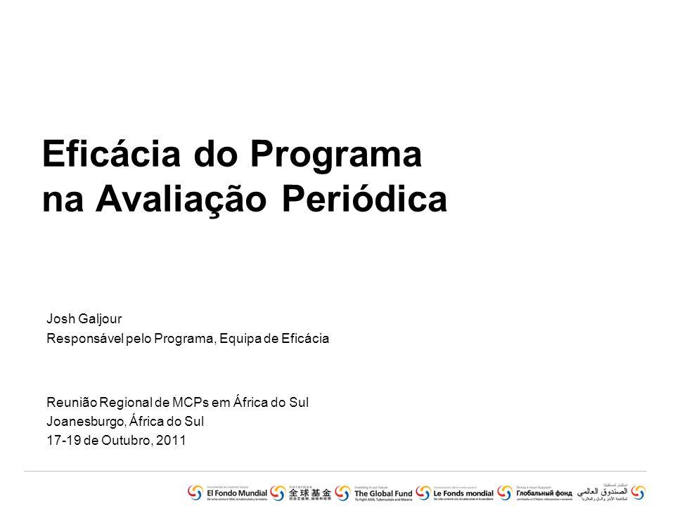 Eficácia do Programa na Avaliação Periódica