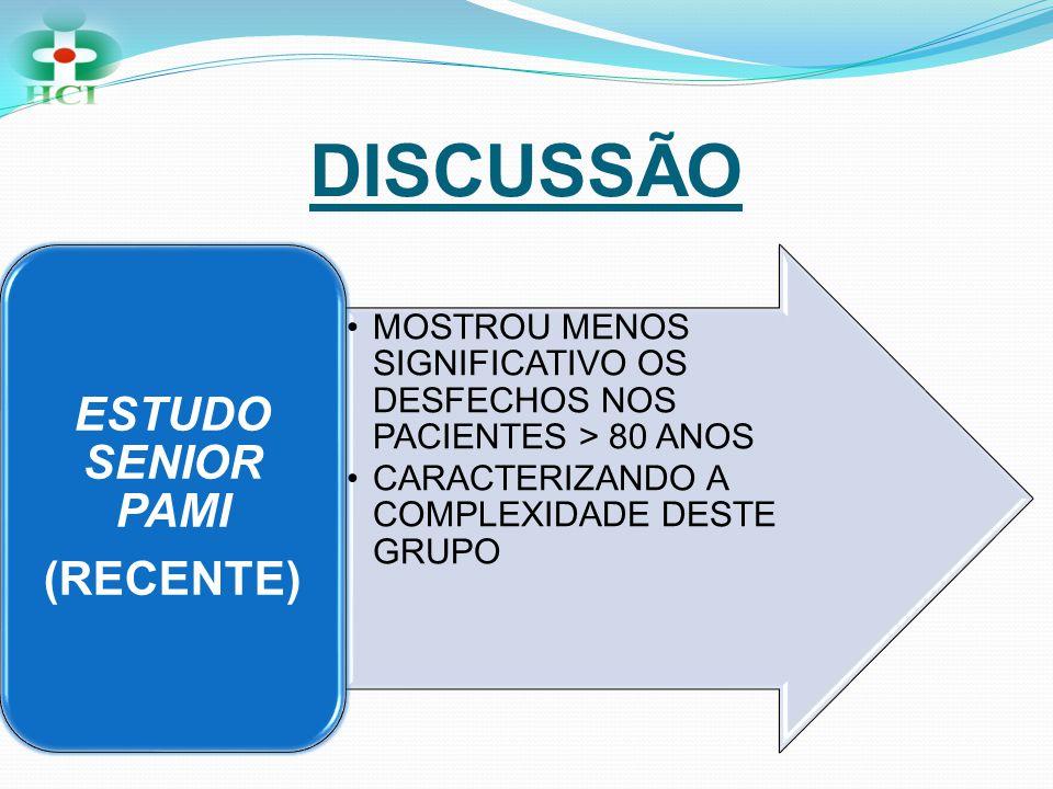 DISCUSSÃO ESTUDO SENIOR PAMI (RECENTE)