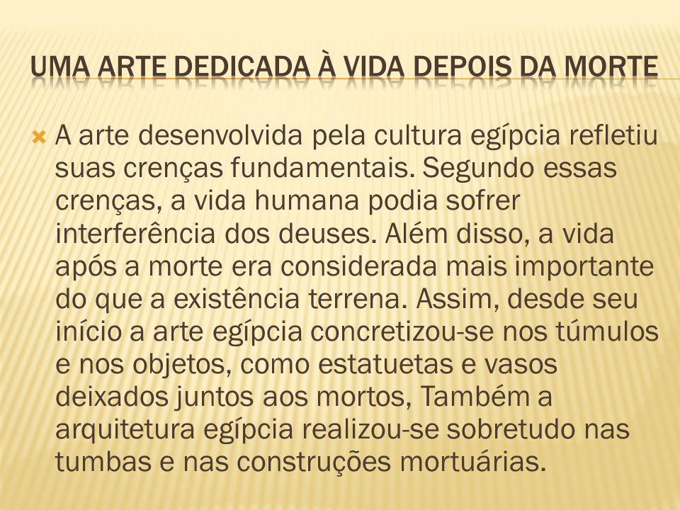UMA ARTE DEDICADA À VIDA DEPOIS DA MORTE
