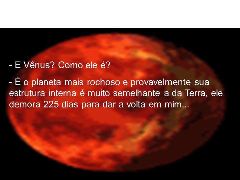 E Vênus Como ele é
