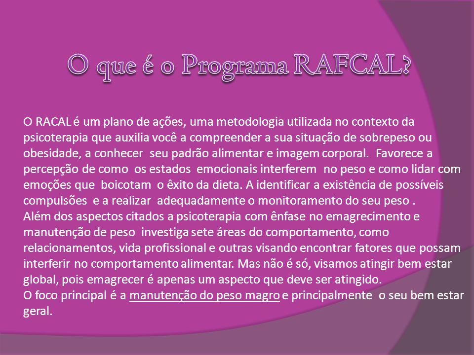 O que é o Programa RAFCAL