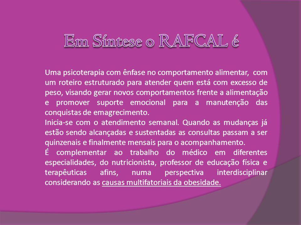 Em Síntese o RAFCAL é