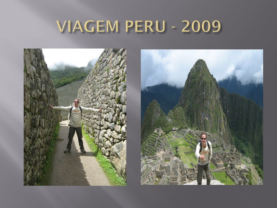 VIAGEM PERU - 2009