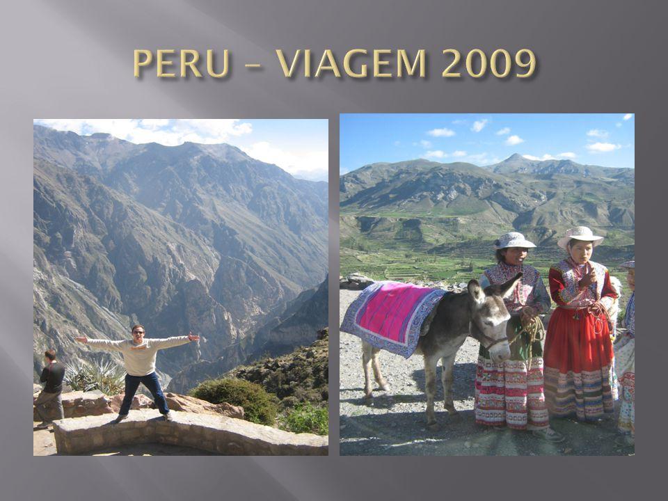 PERU – VIAGEM 2009