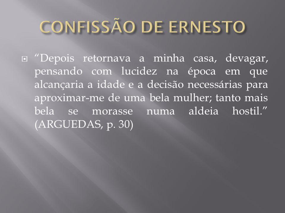 CONFISSÃO DE ERNESTO