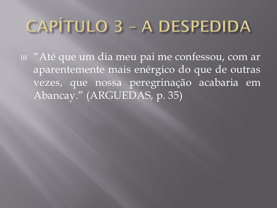 CAPÍTULO 3 – A DESPEDIDA