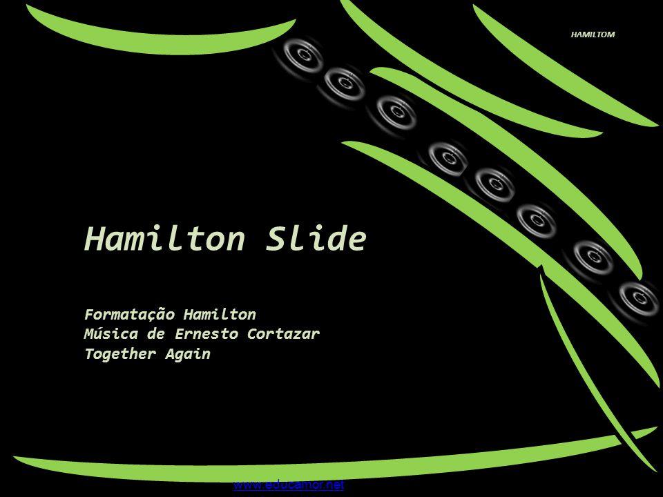 Hamilton Slide Formatação Hamilton Música de Ernesto Cortazar
