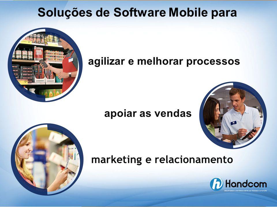 Soluções de Software Mobile para