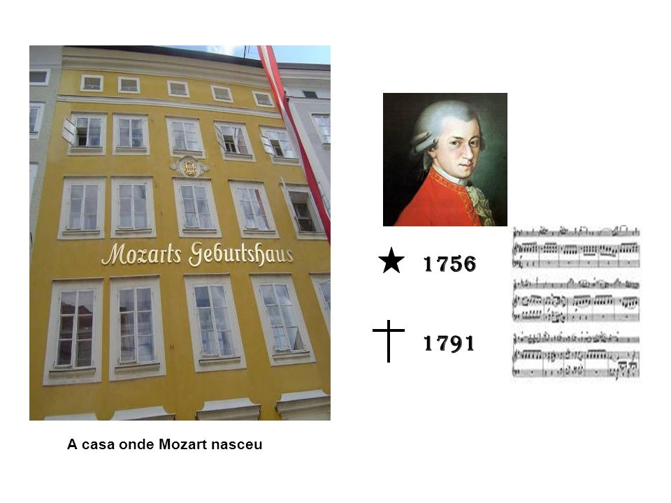 1756 1791 A casa onde Mozart nasceu