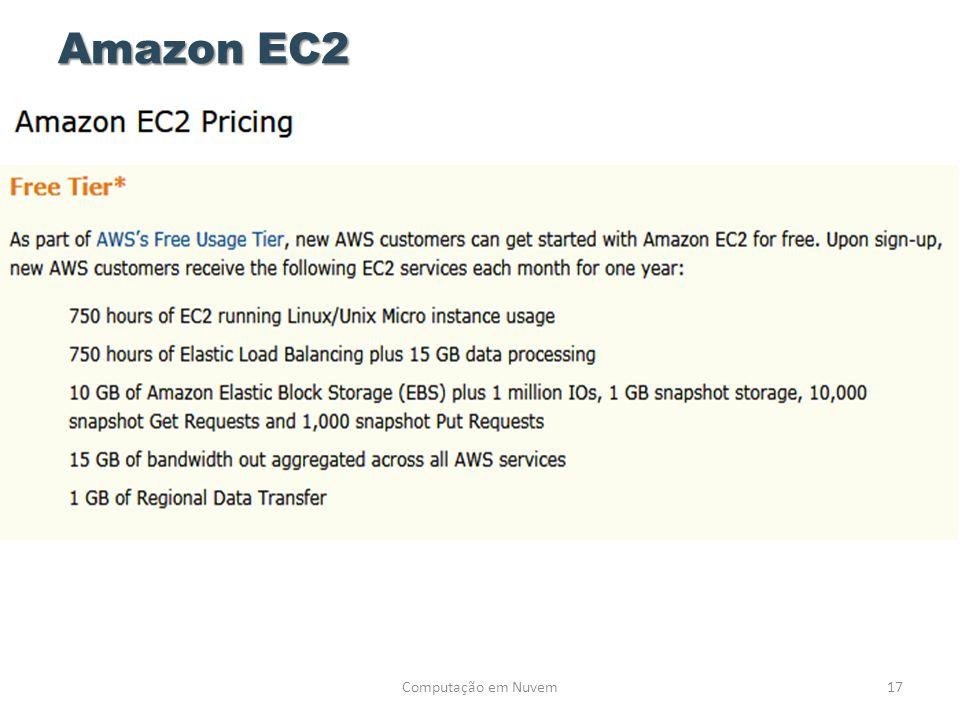 Amazon EC2 Computação em Nuvem