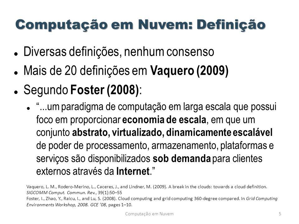 Computação em Nuvem: Definição