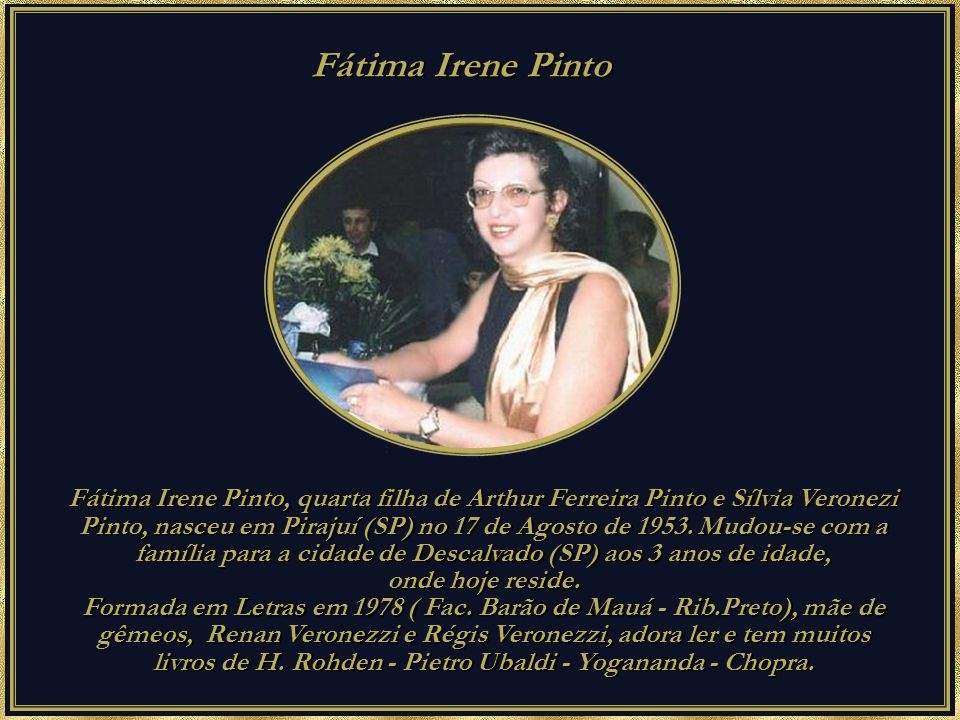Fátima Irene Pinto