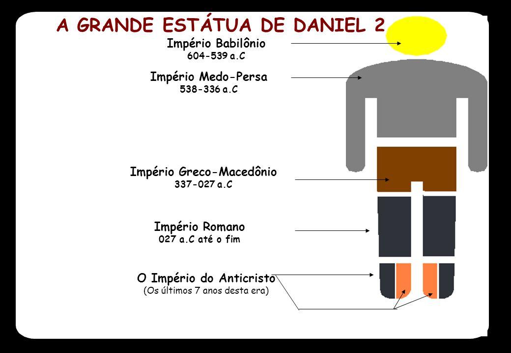 A GRANDE ESTÁTUA DE DANIEL 2 Império Greco-Macedônio