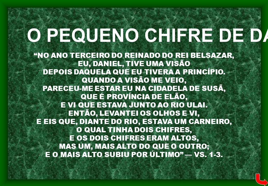 O PEQUENO CHIFRE DE DANIEL 8