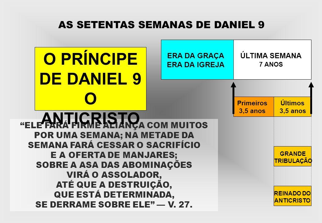 AS SETENTAS SEMANAS DE DANIEL 9