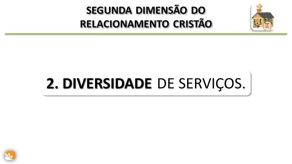SEGUNDA DIMENSÃO DO RELACIONAMENTO CRISTÃO