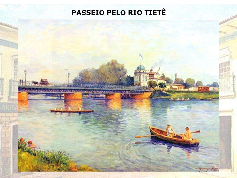 PASSEIO PELO RIO TIETÊ