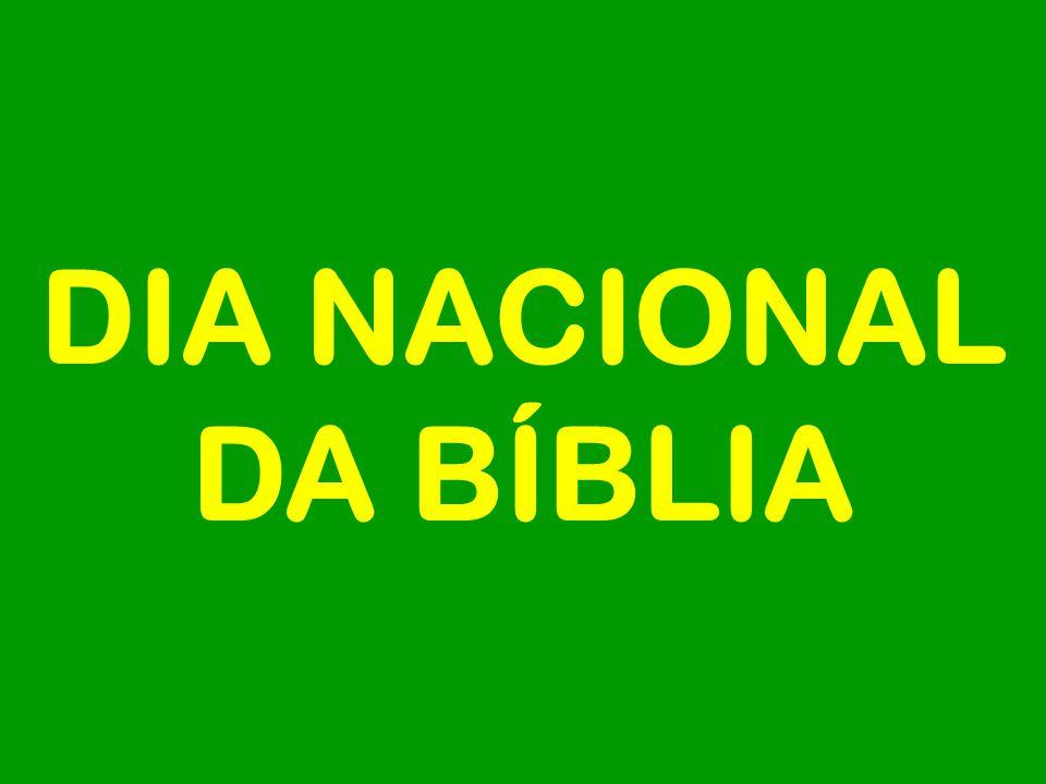 DIA NACIONAL DA BÍBLIA