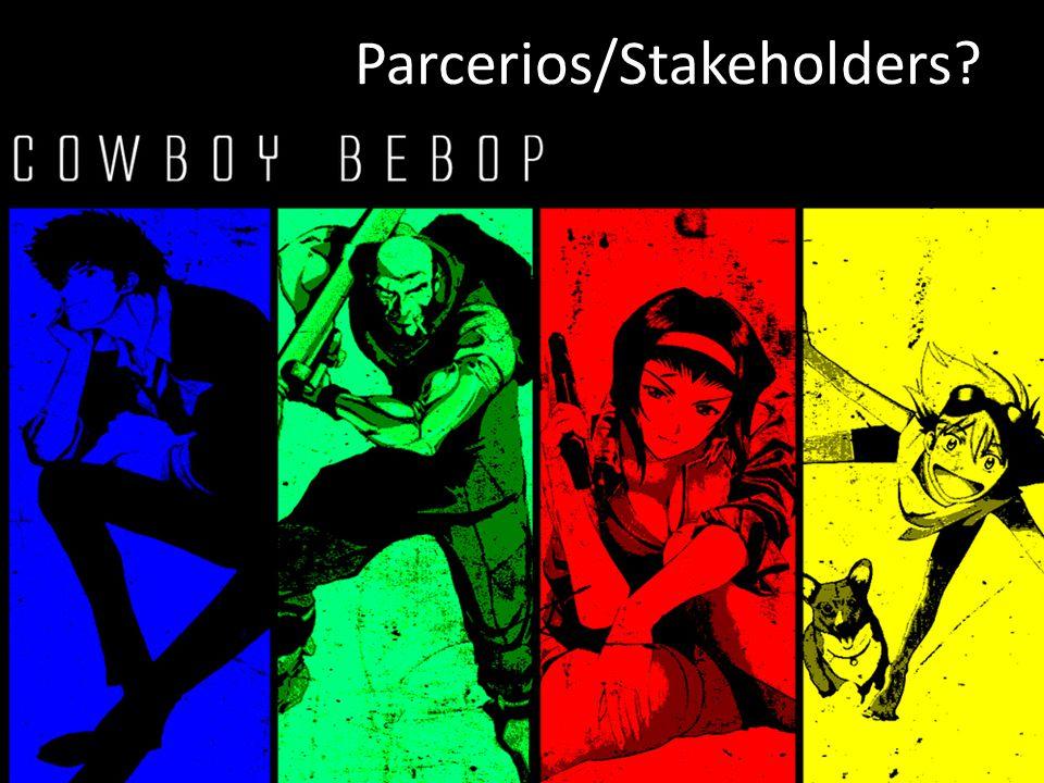 Parcerios/Stakeholders