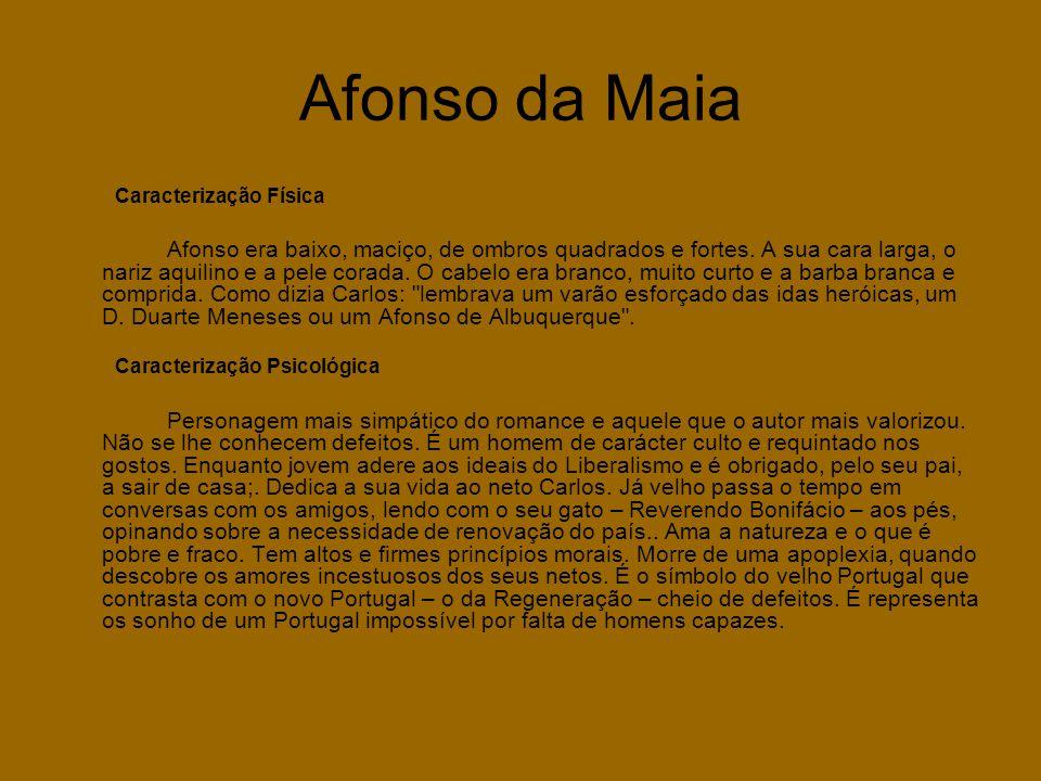 Afonso da Maia Caracterização Física.