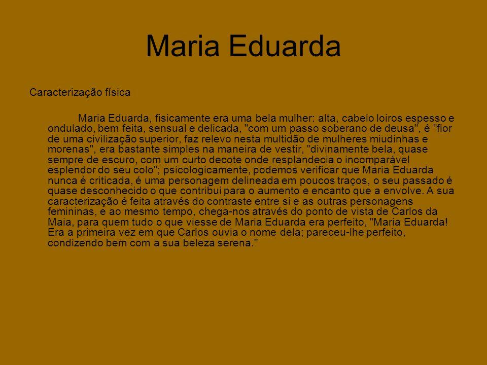 Maria Eduarda Caracterização física