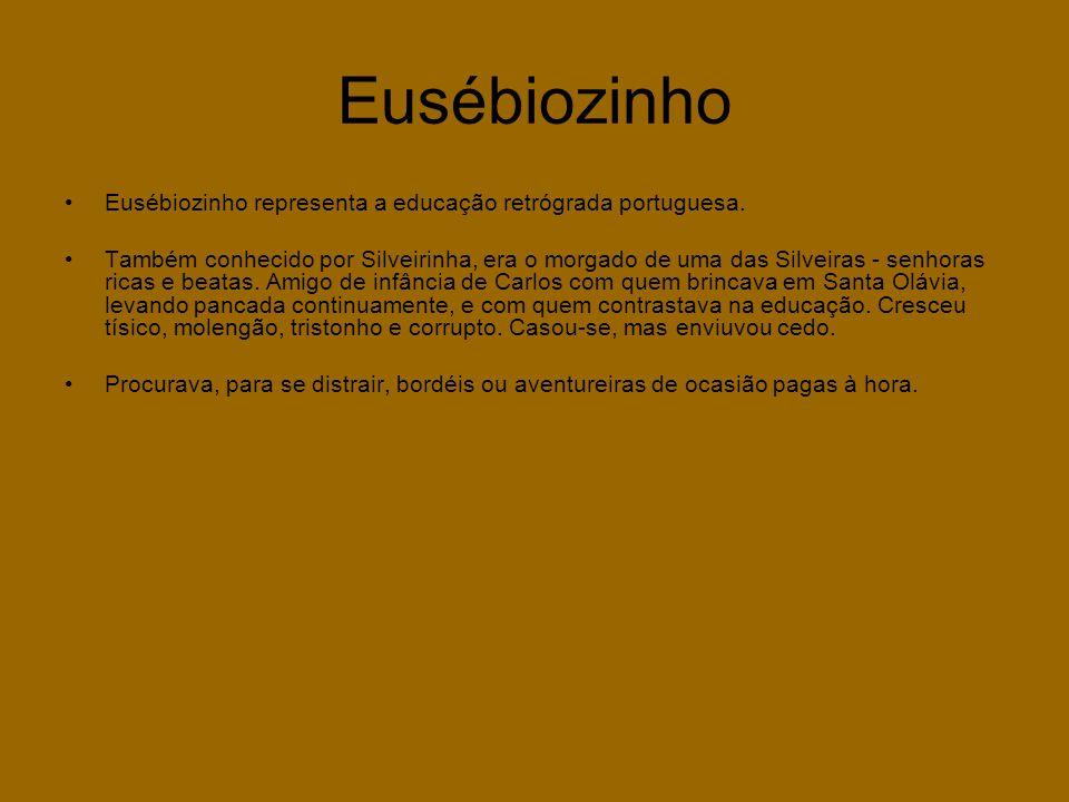 Eusébiozinho Eusébiozinho representa a educação retrógrada portuguesa.