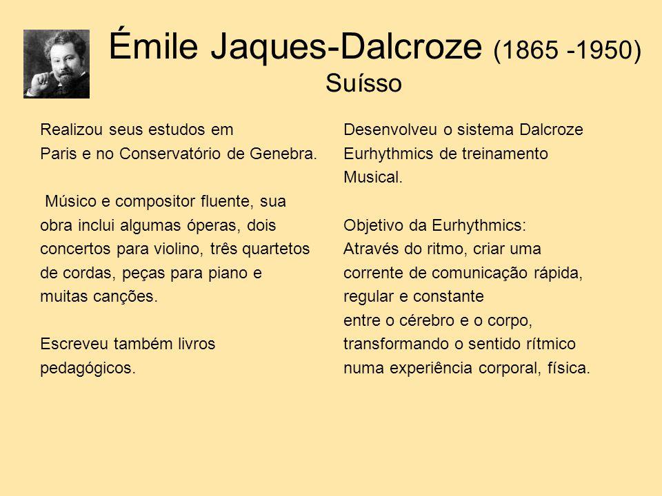 Émile Jaques-Dalcroze (1865 -1950) Suísso