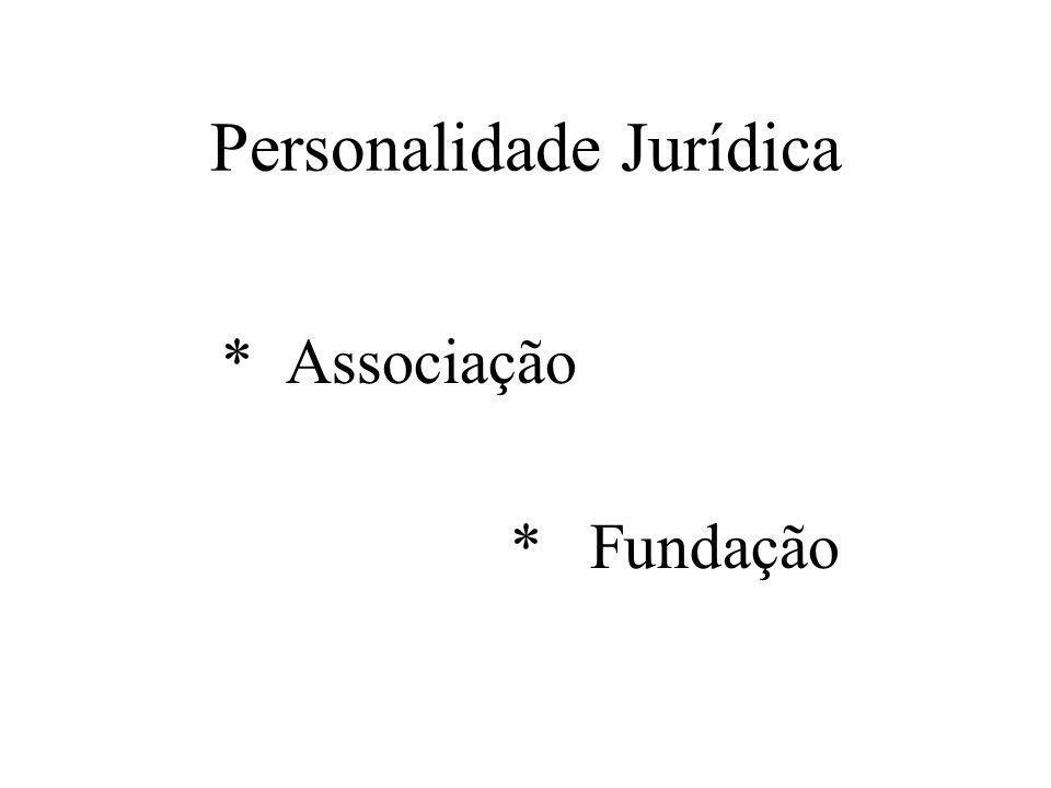 Personalidade Jurídica