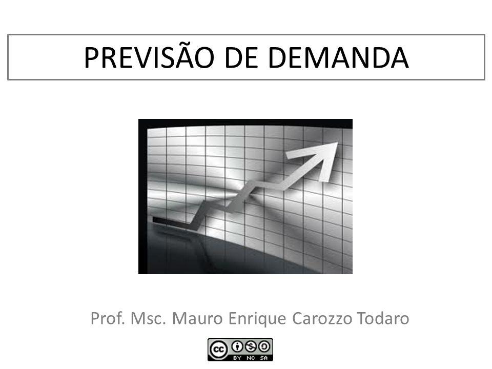 Prof. Msc. Mauro Enrique Carozzo Todaro