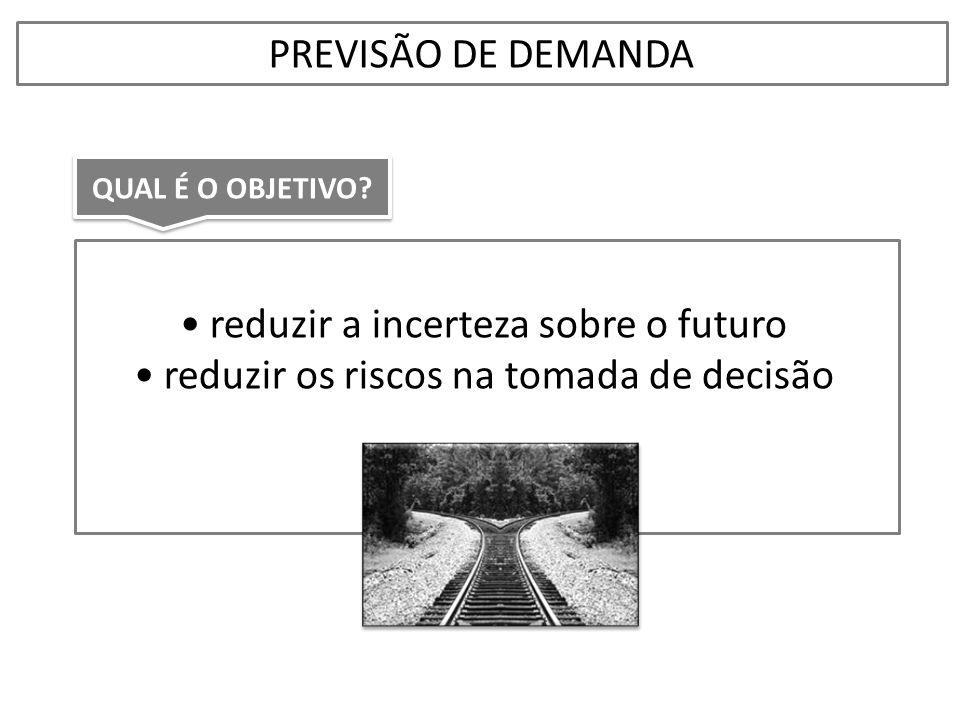 reduzir a incerteza sobre o futuro