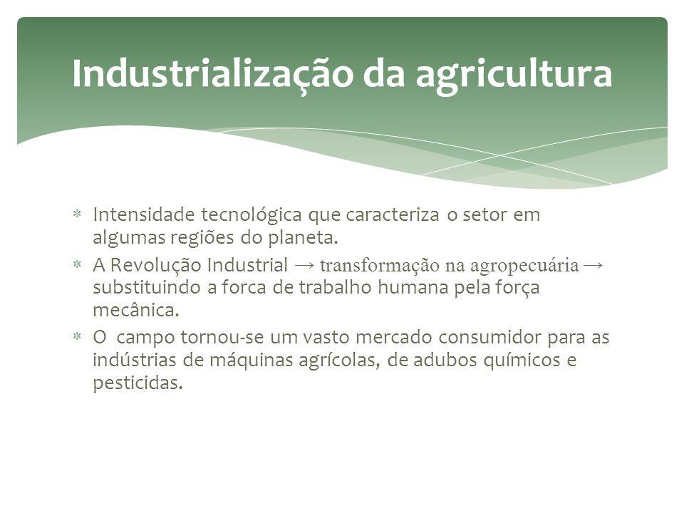 Industrialização da agricultura