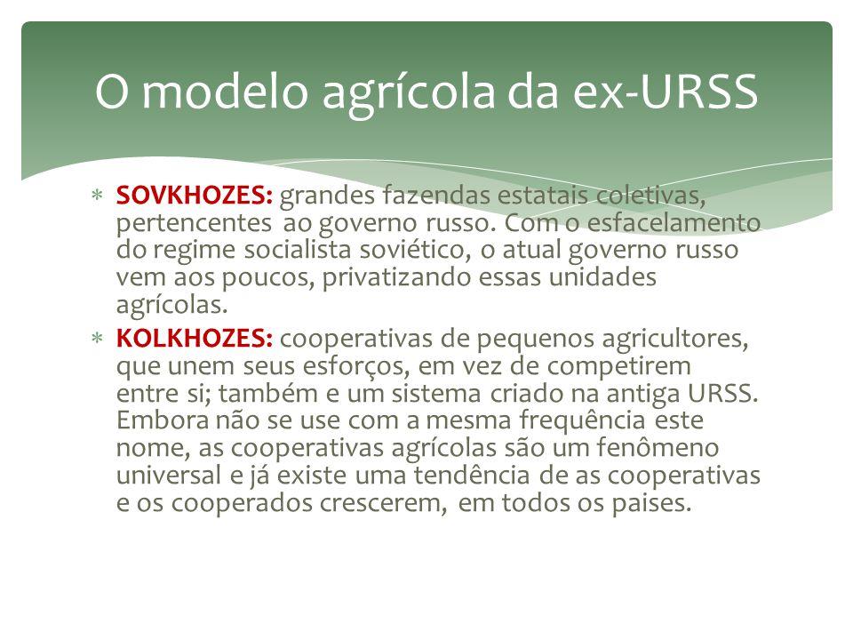 O modelo agrícola da ex-URSS