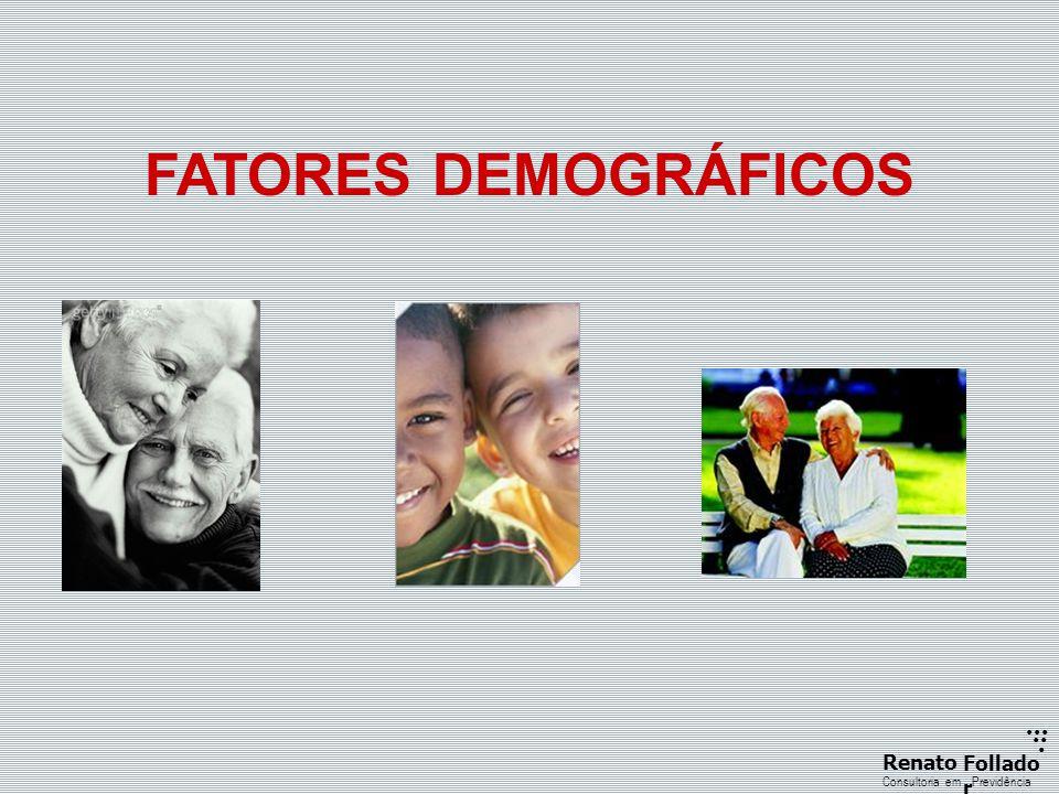 FATORES DEMOGRÁFICOS