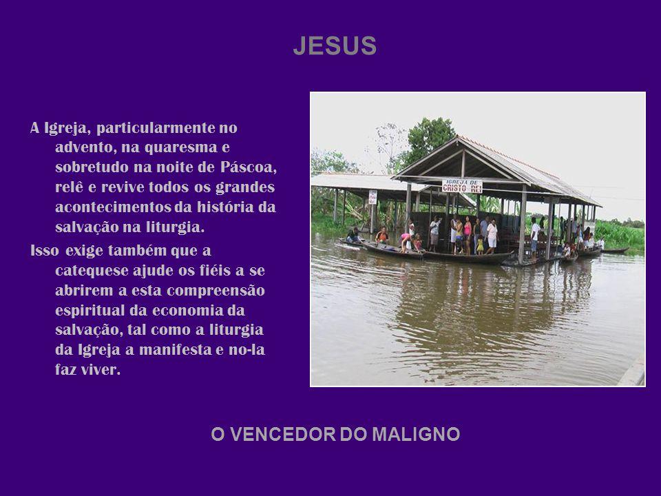 JESUS O VENCEDOR DO MALIGNO