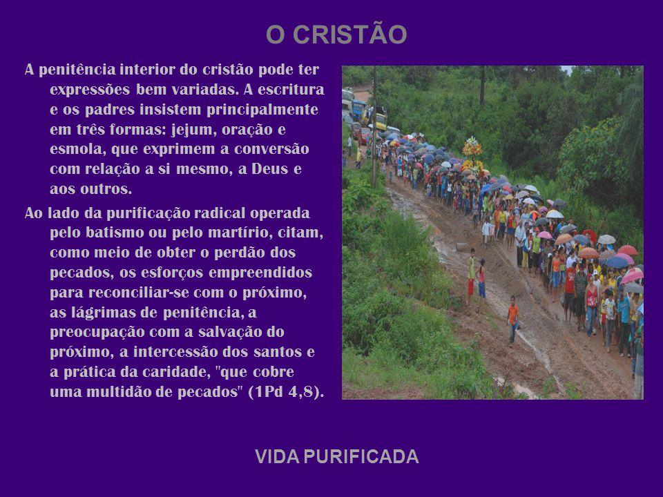 O CRISTÃO VIDA PURIFICADA