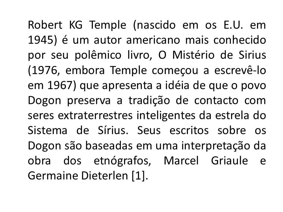 Robert KG Temple (nascido em os E. U