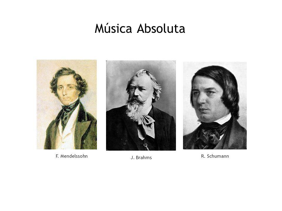 Música Absoluta F. Mendelssohn J. Brahms R. Schumann 14