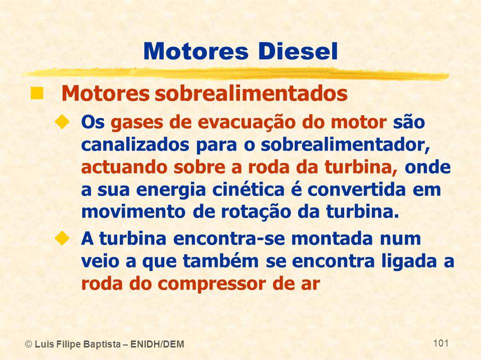 Motores Diesel Motores sobrealimentados