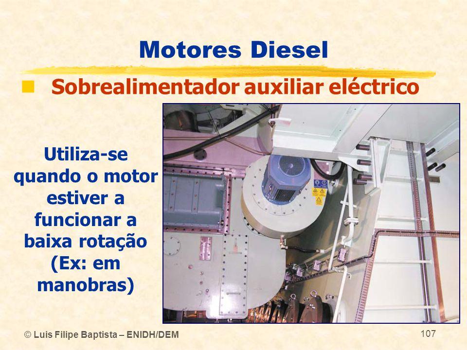 Motores Diesel Sobrealimentador auxiliar eléctrico