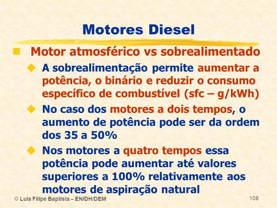 Motores Diesel Motor atmosférico vs sobrealimentado