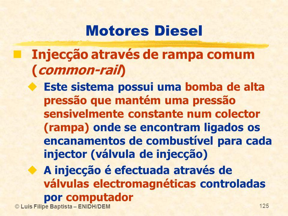 Motores Diesel Injecção através de rampa comum (common-rail)
