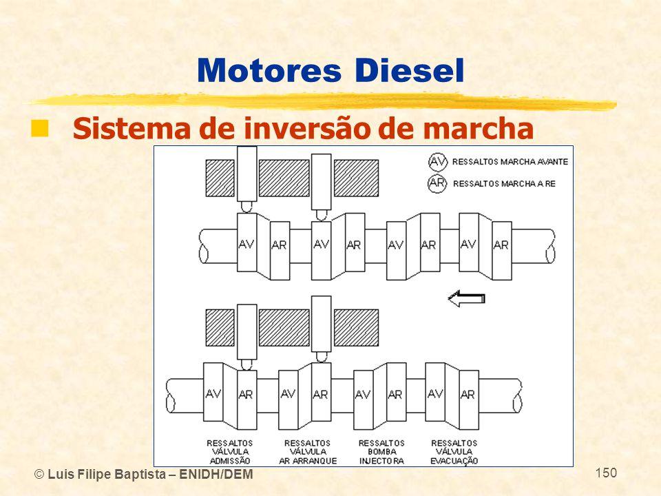 Motores Diesel Sistema de inversão de marcha