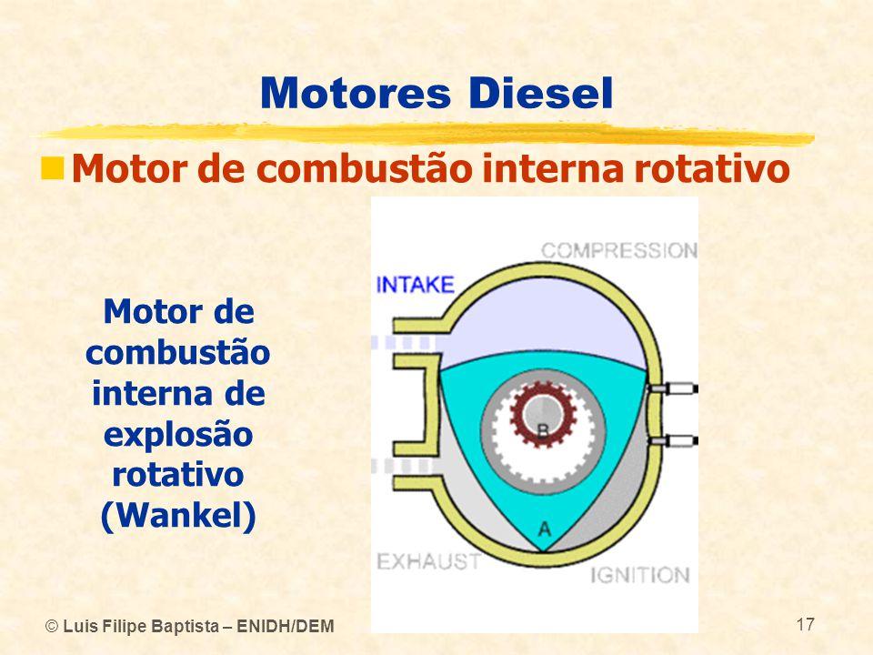 Motor de combustão interna de explosão rotativo (Wankel)