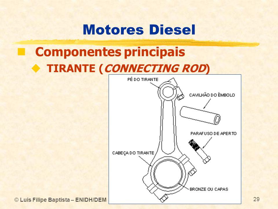 Motores Diesel Componentes principais TIRANTE (CONNECTING ROD)